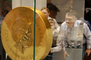 Nejtěžší mince světa na World Money Fair 2014