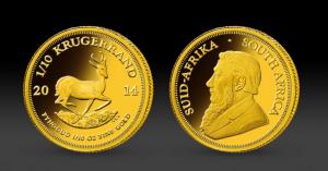Zlatá mince Krugerrand