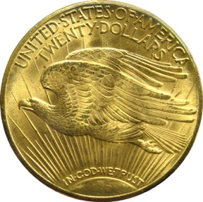 Double Eagle 1933 - Revers