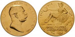 Zlatá výroční stokoruna