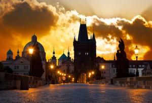 Praha - Legenda o Golemovi