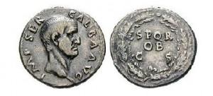 Denár císaře Galby