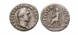 Denár císaře Vitellia