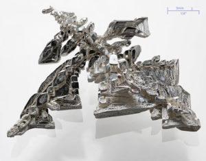 Kovové stříbro
