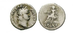 Denár císaře Nerona