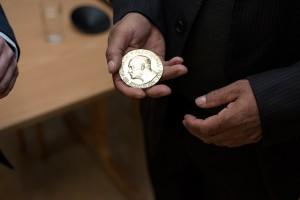 Pamětní medaile Nobelovy ceny za mír
