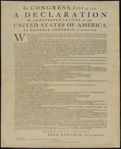 Deklarace nezávislosti USA