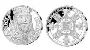 Pamětní medaile Karel IV 700 let