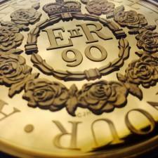 Zlatá kilová medaile Alžběta II