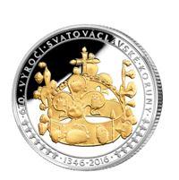 Pamětní medaile svatováclavská koruna