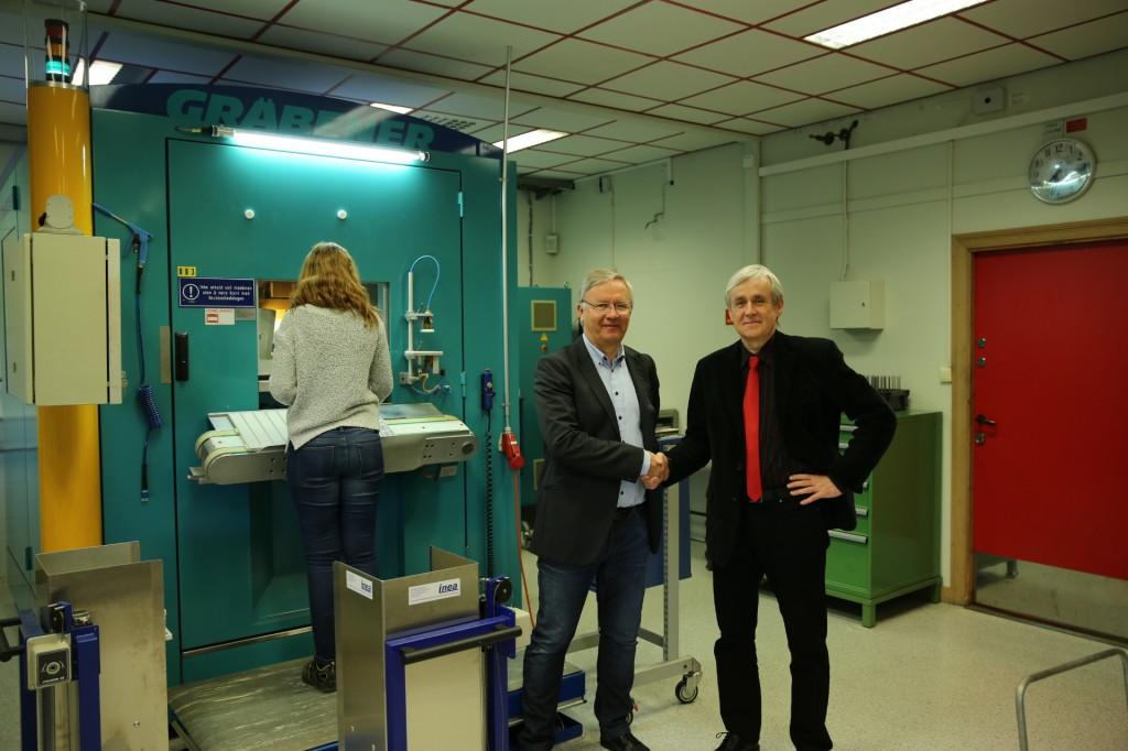 Ředitel Norské královké mincovny s Vladimírem Opplem