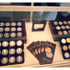 Ukázka z vystavovaných exponátů Národní Pokladnice