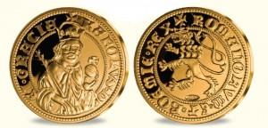 Replika Dukátu Karla IV.