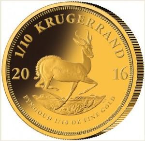Krugerrand 2016 - investiční mince