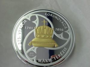 Avers pamětní medaile