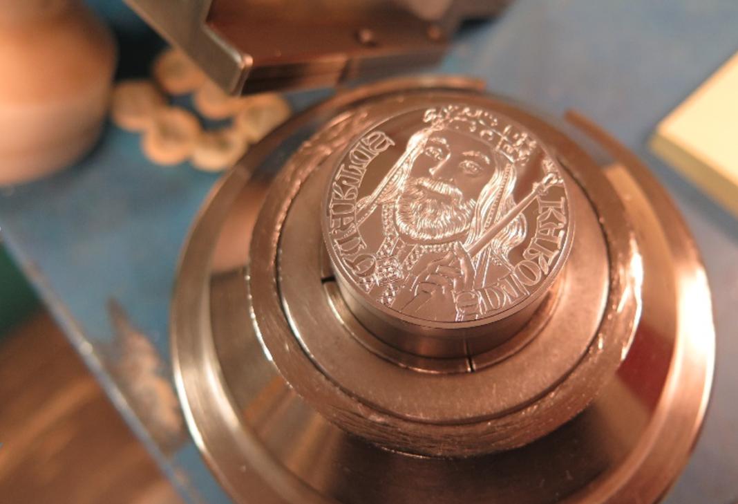 Karel IV. mince