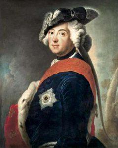 Fridrich II, úhlavní nepřítel Marie Terezie