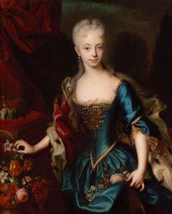 Mladá Marie Terezie byla velmi pohlednou ženou