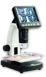 mikroskop na mince