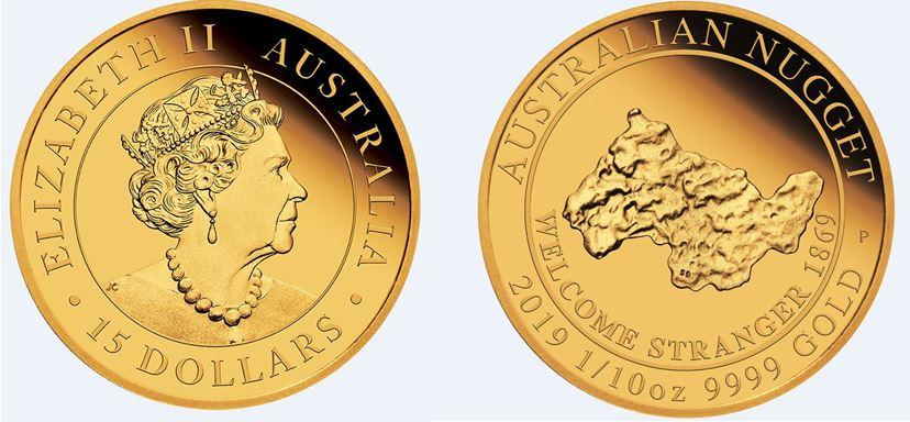 zlatý valoun