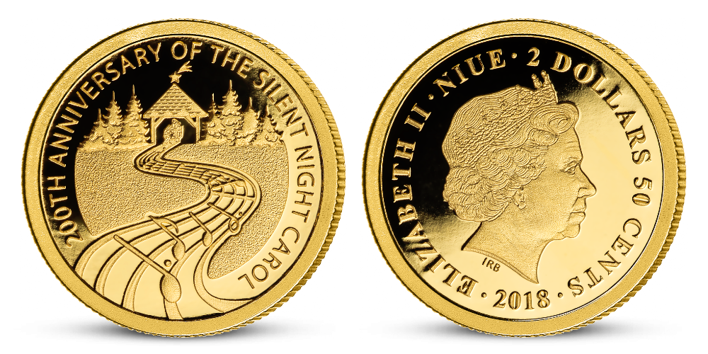 vánoční mince